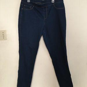 Faded Glory Elastic Waist Jeans